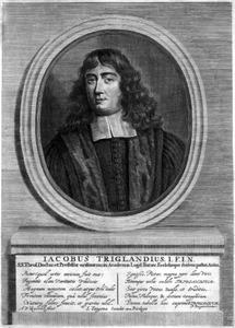 Portret van Jacobus Trigland (1652-1705)
