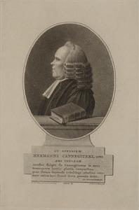 Portret van Herman Cannegieter (1723-1804)