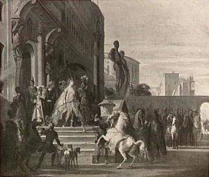 Dido, Aeneas en Ascanius trekken ten jacht uit