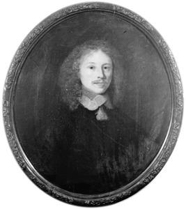 Portret van Samuel Emmius, echtgenoot van Anna Sygers-Emmius