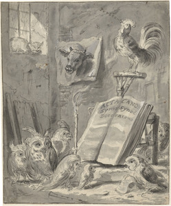 Spottekening op de Synode van Dordrecht