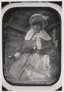 Portret van een vrouw, waarschijnlijk Christina Wintjes (1800-1859)