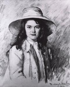 Portret van Arabella van Tienhoven van den Bogaard (1902- )