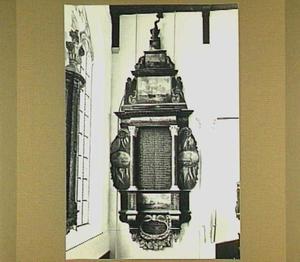 Epitaaf van het Vissersgilde in de Grote Kerk te Maassluis, 'Visserijbord'