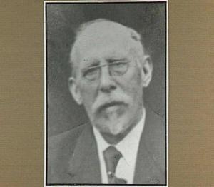 Portret van de kunstenaar Petrus Johannes van Izeren