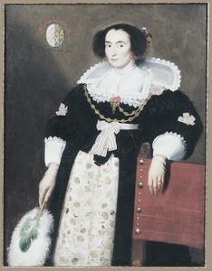 Portret van Anna van den Bogaerde ( ?-1641)
