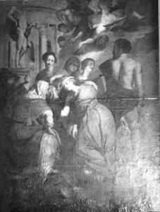 De onthoofding van de Heilige Catharina van Alexandrië