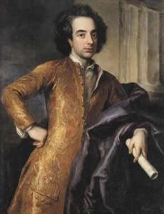 Portret van de componist Giovanni Bononcini