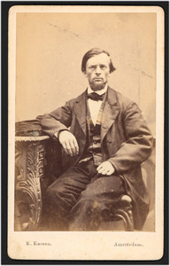 Portret van Sybrand Geerts Bakker (1840-...)