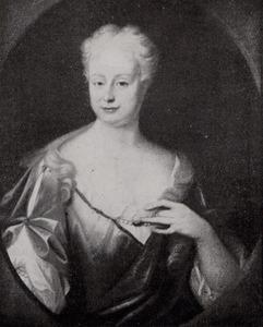 Portret van Elisabeth Waterman ( -1737)