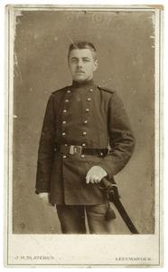 Portret van Johannes Swierstra (1879-1963)