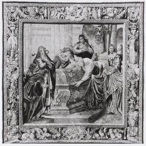 Bewening van de gestorven Aeneas