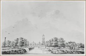De Mariagracht buiten de stad Utrecht