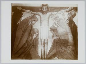 Twaalfde Kruiswegstatie. Jezus sterft aan het kruis