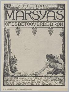 Affiche 'Marsyas' (variant II)