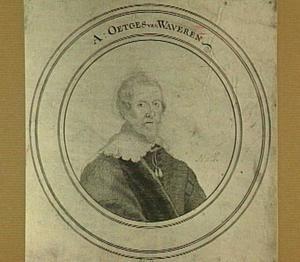 Portret van A. Oetgens van Waveren