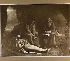 Chactas en de kluizenaar bij het lijk van Atala