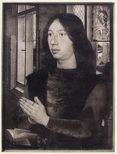 Diptiek van Maarten van Nieuwenhoven: portret van Maarten van Nieuwenhoven