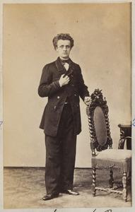 Portret van een man, waarschijnlijk Thomas Breitsma (1842-1873)