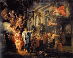 Het gouden tijdperk (Ovidius, Metamorphosen I, 89-150)