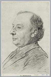 Portret van Dr. Bronsveld