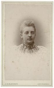 Portret van Grietje Kingma (1873-1950)