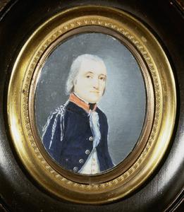 Portret van Willem Lodewijk Levin Christiaan van Sommerlatte (1760-1833)