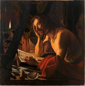 Zelfportret als Johannes de Doper