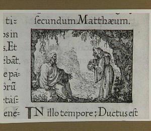 De eerste beproeving van Jezus in de woestijn (Mattheüs 4:1-11)