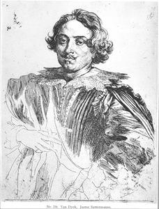 Portret van de schilder Justus Sustermans