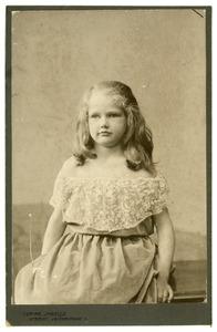 Portret van Wilhelmina Louisa Maria van Heemstra (1899-1971)