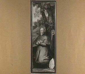 Petrus Damant, derde bisschop van Gent (Triptiek van Pieter Damant) (op de buitenzijde in grisaille: de H. Paulus)