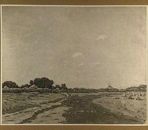 Vlak landschap