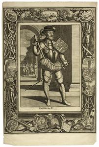 Portret van Philips II van Habsburg (1527-1598)