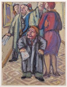 Liliputter bezoekt tentoonstelling in het Rijksmuseum Amsterdam