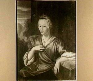 Portret van Jeanne Aldegonde Diodati (1690-1759)