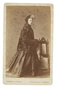 Portret van Petronella Maria van Breugel (1828-1900)