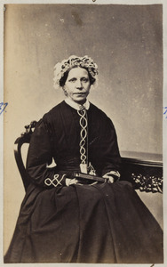 Portret van een vrouw, waarschijnlijk Femmigje van Loon (1820-1869)