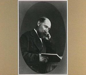 Portret van de schilder Hendrik Willem Mesdag