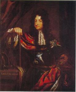 Portret van Christiaan V, koning van Denemarken en Noorwegen (1646-1699)