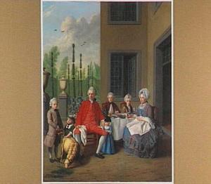 Portret van de familie Van der Bosch