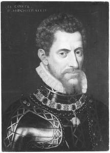 Portret van Anton van Lalaing (1535-1568), graaf Hoogstraten