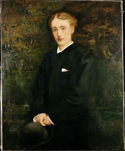 Portret van mr. Reep Boudewijn Ambrosius Verloren van Themaat