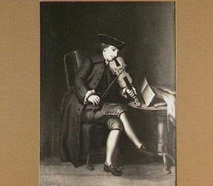 Vioolspelende man