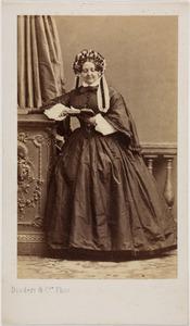 Portret van Alida barones van Wickevoort Crommelin (1806-1883)