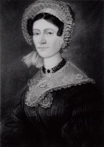 Portret van Maria van Brummelen (1812-1887)
