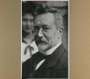Portret van de architect Willem Kromhout