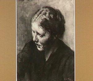 Portret van een vrouw (Marie de Leeuw)