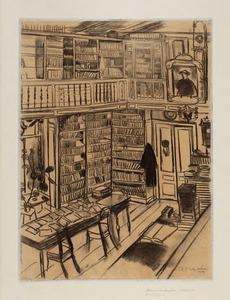 Natura Artis Magistra: Bibliotheek interieur