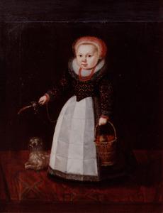 Portret van een meisje, genaamd Maria van Aelst (1602-1656)